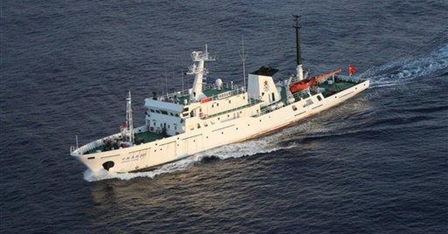 Japan protests China boats' entry in disputed area