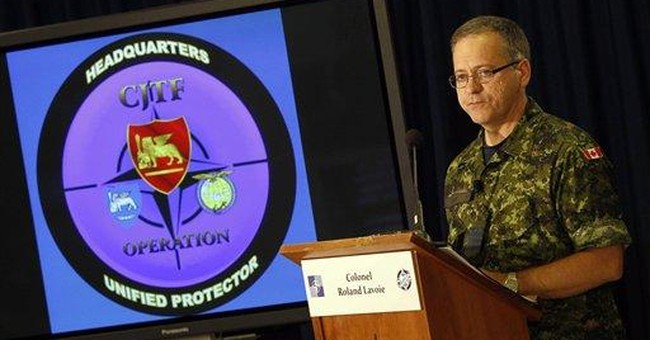 NATO considers options for a postwar role in Libya