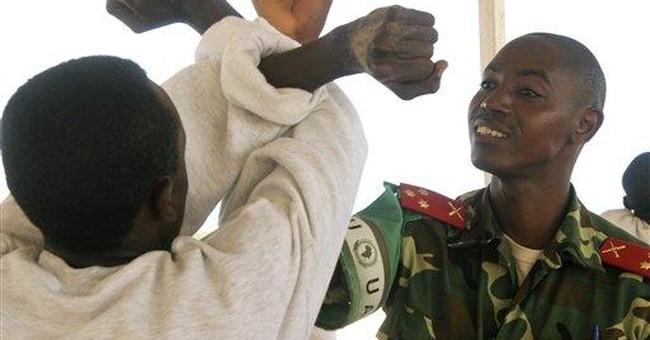 Instructors struggle to rebuild Somalia's army