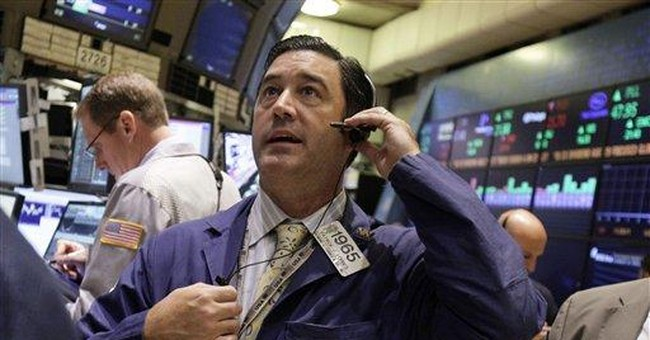 Stocks sink, ending a three-day rally; Dow off 170