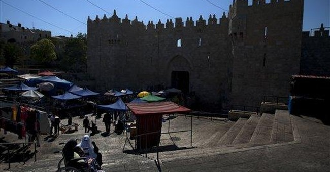 Jerusalem's walls restored, idiosyncracies and all