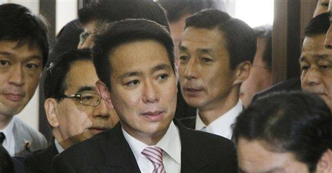 Japan PM resigning as opinion sinks after tsunami