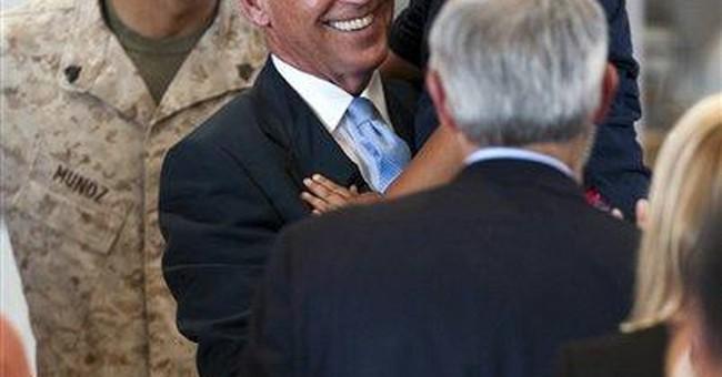 Biden thanks servicemen and women in Hawaii