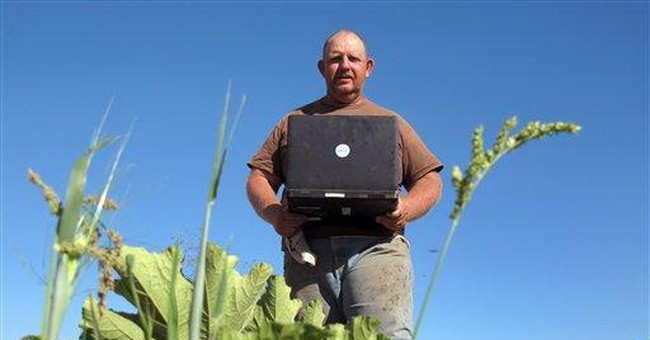 Report shows more US farmers relying on Internet