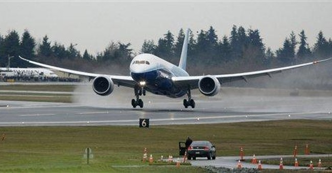 FAA clears the way for first Boeing 787 flight