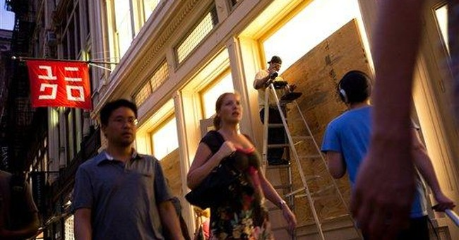 With Irene bearing down, Broadway shuts down