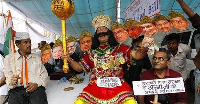 Rahul Gandhi says Indian's fast is bad precedent