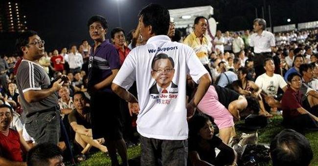 Singapore politics turn feisty amid president vote