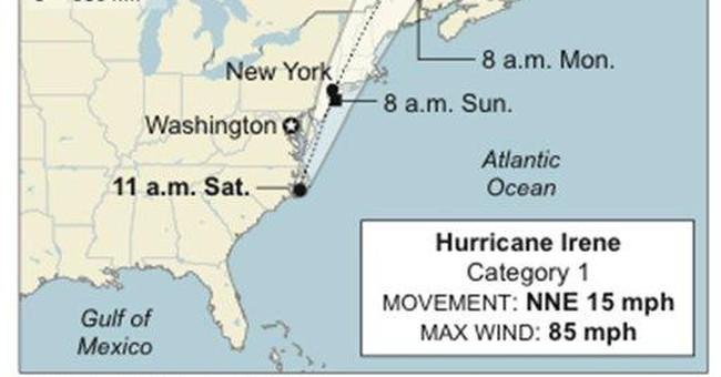 Obama: Getting through Irene will be 'tough slog'