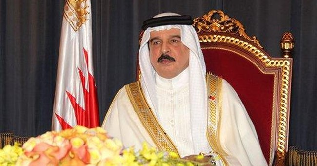 Bahrain's king pardoning some protesters