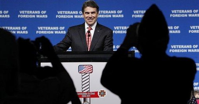 Perry: No stimulus program if he's president
