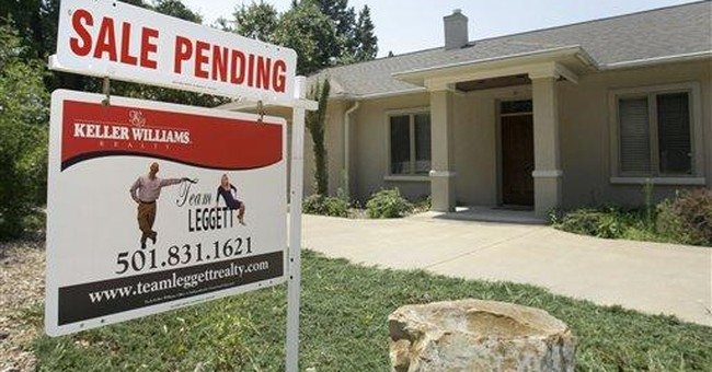 Contracts to buy homes fell 1.3 percent in July