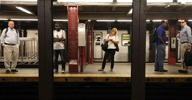 NYC's subway back on track for commute after Irene