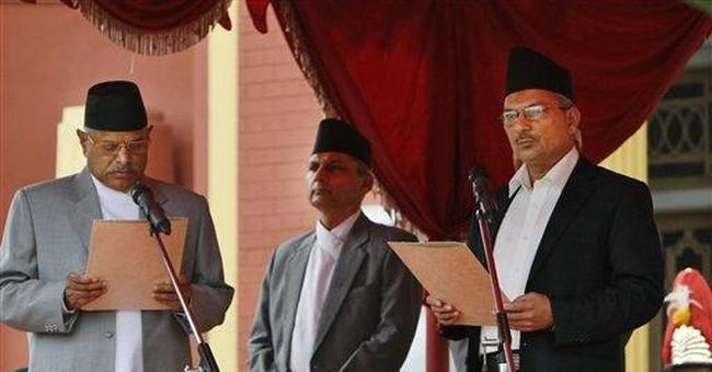 Deputy chief of Maoists sworn in as Nepal's new PM