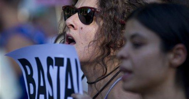 Protests urged in Spain over deficit amendment
