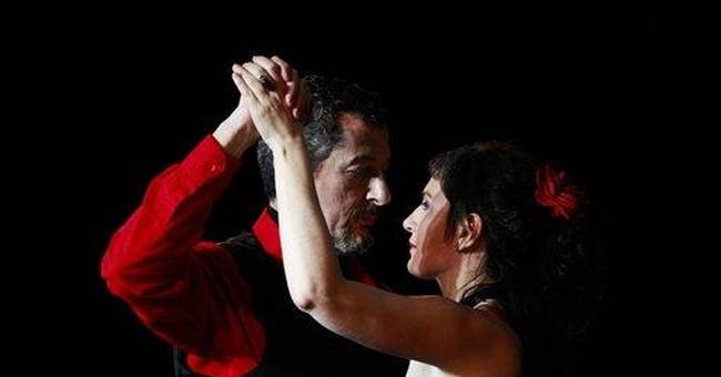 Colombian couple win world salon tango competiton