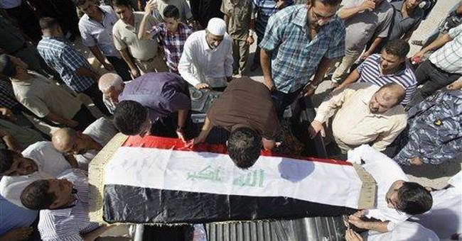 Bomber of Baghdad mosque disguised self as beggar