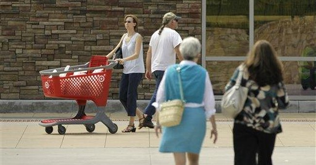 Consumer spending rebounds, rose 0.8 pct. in July