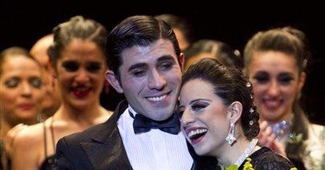 Argentine pair win on final day of tango contest