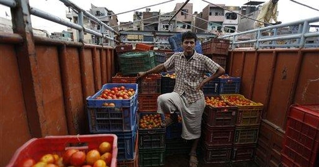 Fruit and vegetables rot as hunger stalks India