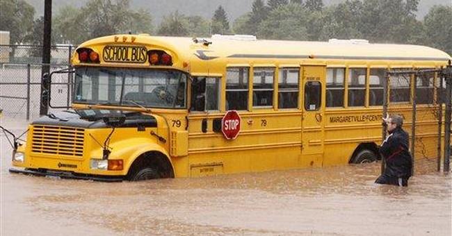 Irene delays opening of schools across East