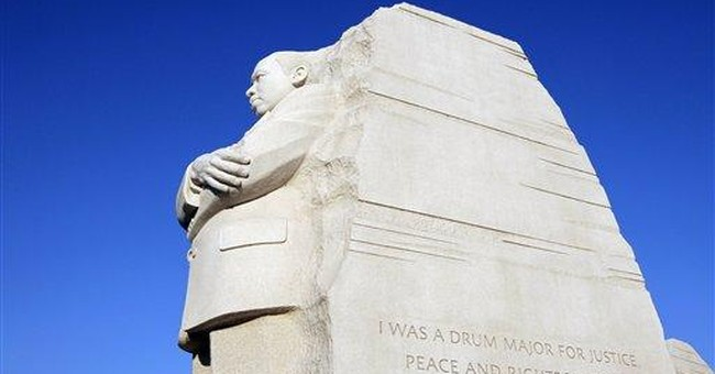 MLK Memorial architect says inscription will stay