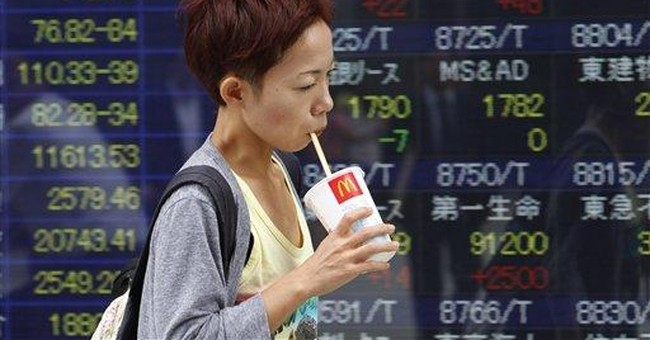 Fears over US economy trigger world market rout
