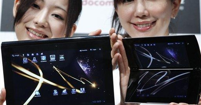 With new tablets, Sony takes aim at iPad in Japan