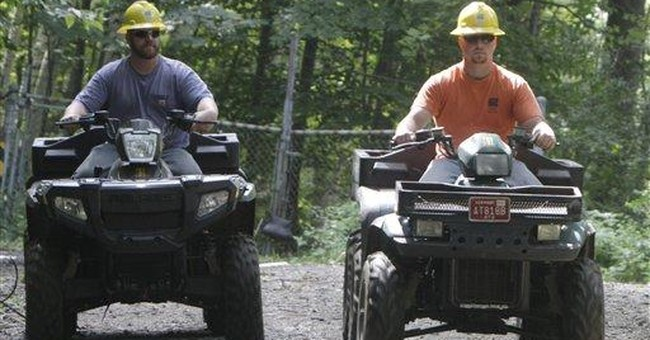 ATVs often reviled in Vt., but popular this week
