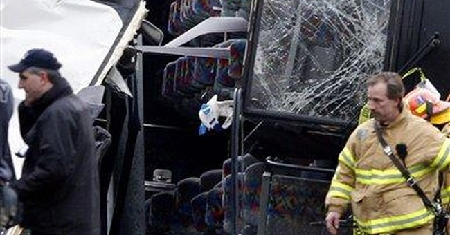 Driver in deadly NYC tour bus crash denies guilt