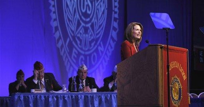 Bachmann draws Thatcher foreign policy comparison