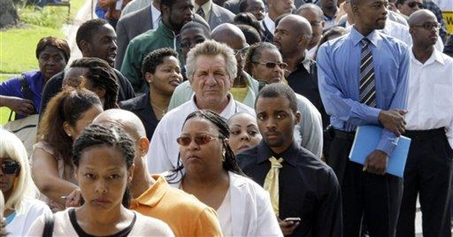 Unemployment benefit applications fell to 409K
