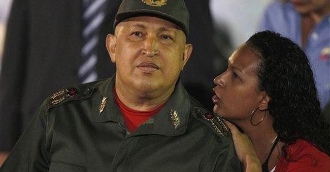 Venezuela's Chavez finishes 3rd round of chemo