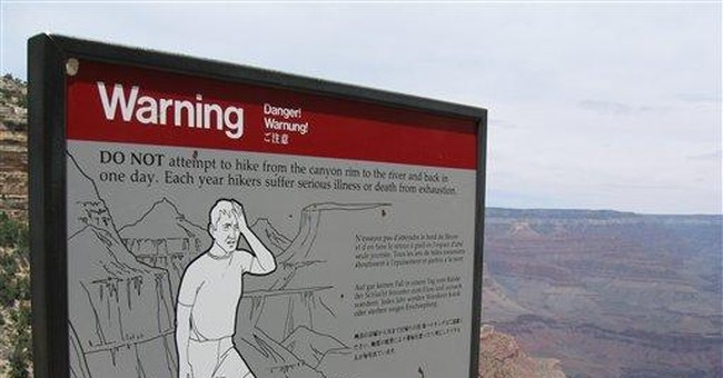 Grandpa charged with forcing Grand Canyon hikes