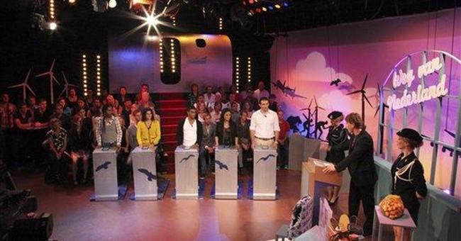 Dutch game show highlights asylum seekers' plight
