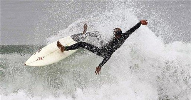 High surf to pound Calif. beaches into holiday