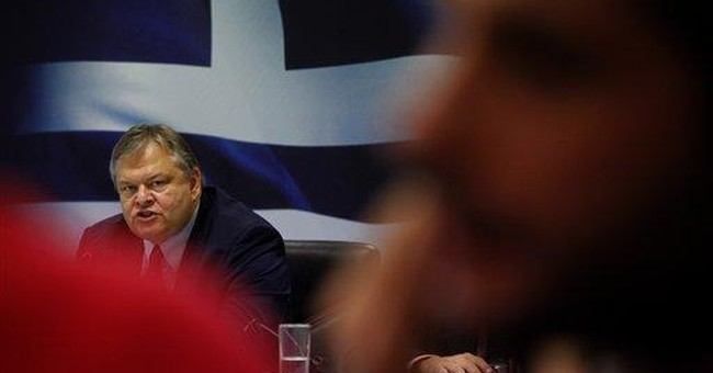 Greece, troika disagree over deficit