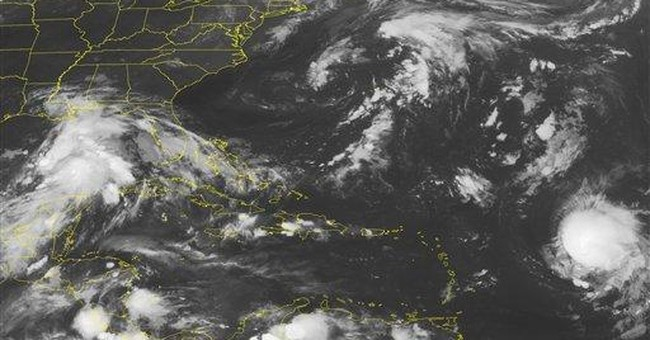 Rain-packed Tropical Storm Lee forms off Louisiana