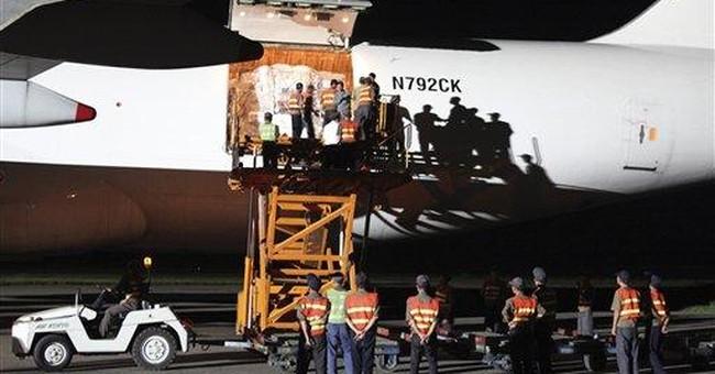 US flood aid shipment arrives in North Korea
