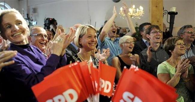 German state election deals new setback to Merkel