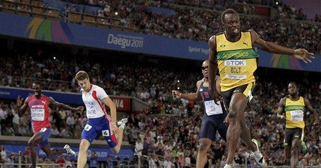 Bolt helps Jamaica win men's 4x100 relay at worlds