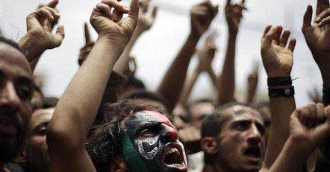 Airstrikes hit Yemeni province seized by militants