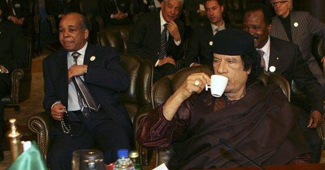 Gadhafi leaned on Arab allies to stay in power
