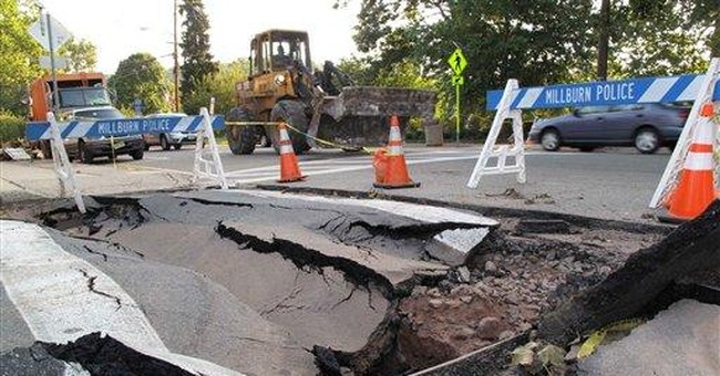 Winter threatens repairs of Irene-damaged roads