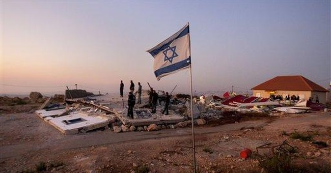 Israeli army: 3 houses razed in West Bank outpost