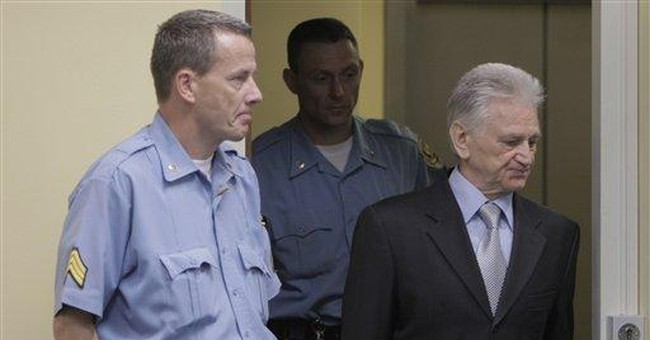 Court convicts Serb general for Balkan atrocities