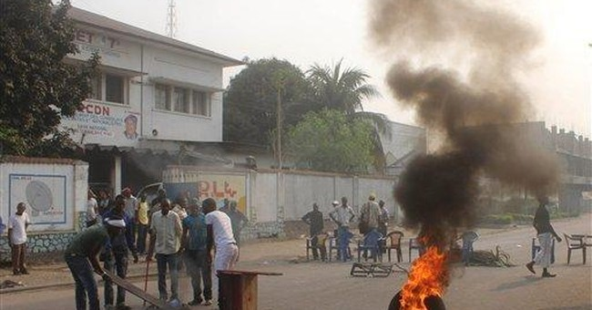 Police shoot protesters in Congo; 1 dead