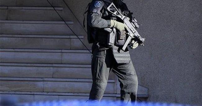 Australian standoff ends; 1 in custody, girl safe