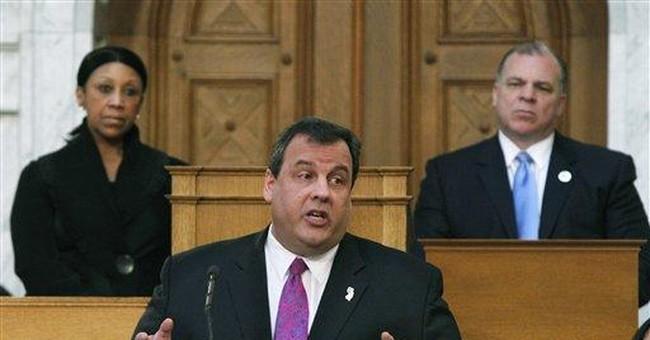 NJ GOP gov says he offered Dem help; she denies it