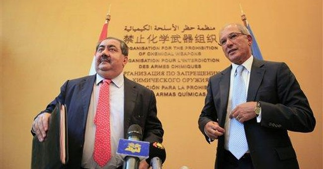 UN watchdog says Libyan chemical weapons secure